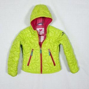 Obermeyer Quilted Snow/Ski Girls Jacket - 6